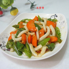 胡萝卜炒粉