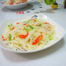 醋炒土豆丝