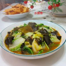 海带炒白菜