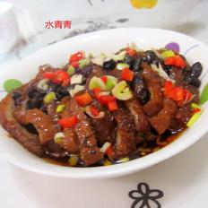 黑豆豉蒸东坡肉