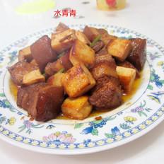 东坡肉烧豆腐的做法[图]