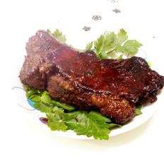试做的烤羊肉