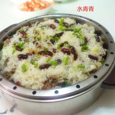 排骨煲仔糯米饭