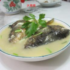 葱香鱼头汤