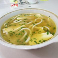 豆腐米粉汤