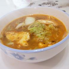 鸡蛋白菜汤