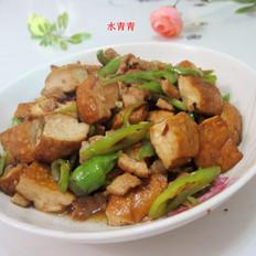 酱香豆腐炒肉