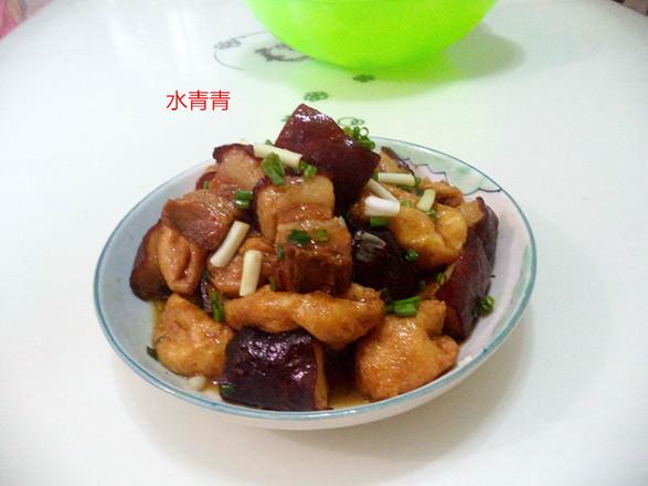 油豆腐焖东坡肉的做法