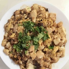 鸡蛋虾仁酱豆腐