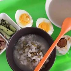 绿豆白米粥