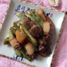 猪肉炖芸豆