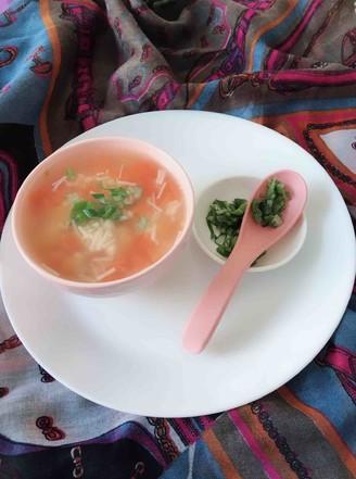 金针菇西红柿汤的做法