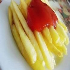 自制炸薯条
