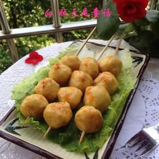 咖喱墨鱼丸