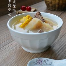 粉葛玉米猪骨汤的做法[图]
