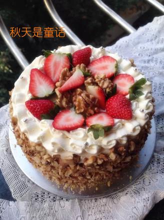 核桃生日蛋糕