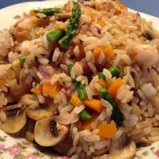 意大利海鲜烩饭 seafood risotto