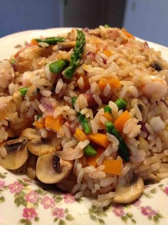 意大利海鲜烩饭 seafood risotto的做法