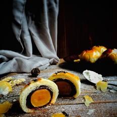层层香酥——蛋黄酥的做法[图]