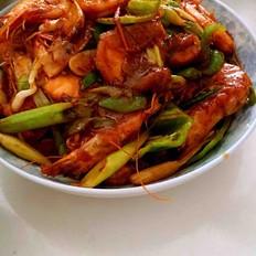 炒青虾的做法[图]