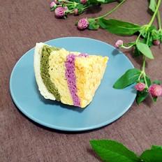 彩虹发糕#早餐#
