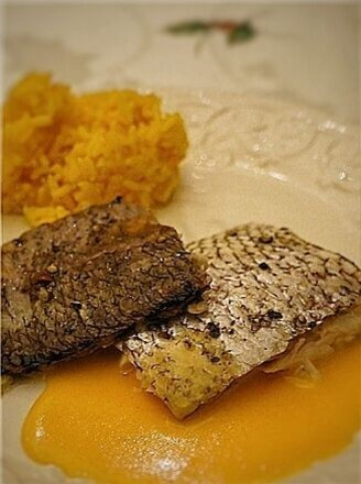 八角茴香火烧鲷鱼的做法
