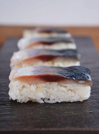 鲭鱼押寿司的做法