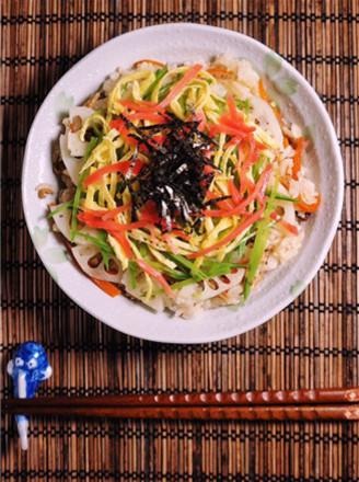 关西风格散寿司的做法