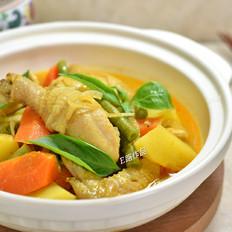 泰式咖喱鸡