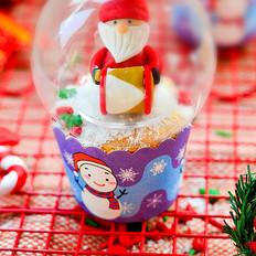 圣诞纸杯蛋糕