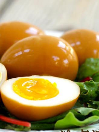 冷卤溏心蛋的做法