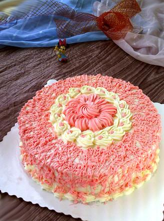 蛋糕盘子画海底动物