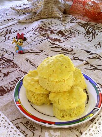 鲜玉米蒸糕的做法