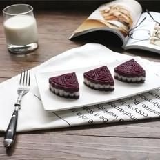 十月静补第八弹:紫薯山药糕