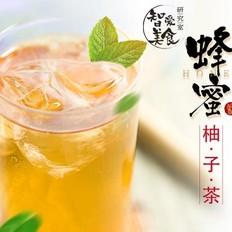 清甜润肺的蜂蜜柚子茶