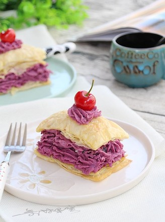法式紫薯派的做法