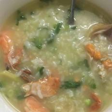 虾蟹砂锅粥