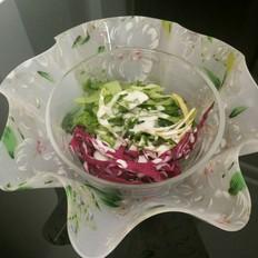 夏日清凉蔬菜沙拉