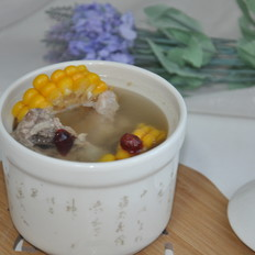 养身汤——玉米排骨汤