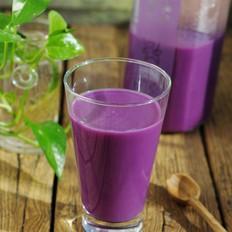 红粳米紫薯糊