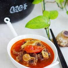 番茄牛尾汤——#美的原生态AH煲#