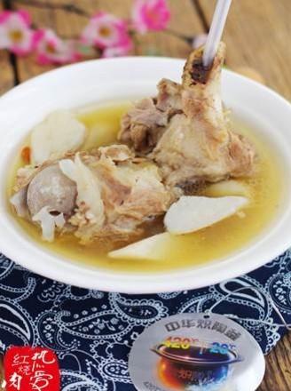 猪棒骨山药汤的做法