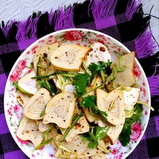黄瓜拌豆腐卷