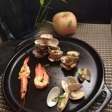 蛤蜊大虾#秋季保胃战#