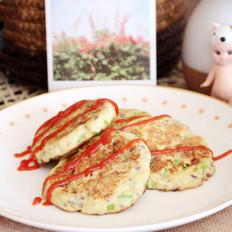 西葫芦豆腐饼  宝宝健康食谱