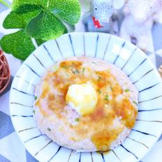莲藕肉饼蒸蛋   宝宝辅食食谱