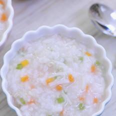 干贝瘦肉蔬菜粥 宝宝辅食食谱