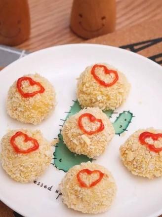 宝宝辅食食谱  非油炸鸡米花的做法