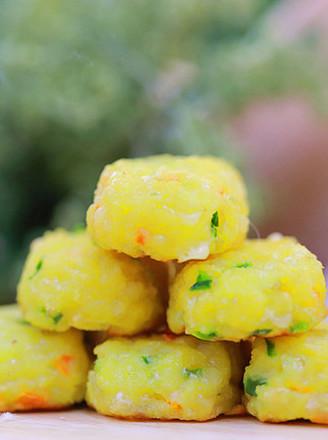 一口花椰菜 宝宝辅食食谱的做法