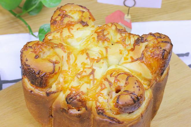 培根奶酪吐司 宝宝辅食食谱的做法